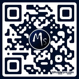 QR code with logo 28Nr0