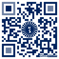 QR code with logo 28Rq0