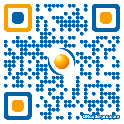 QR code with logo 28Rt0