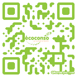 QR code with logo 28Ry0
