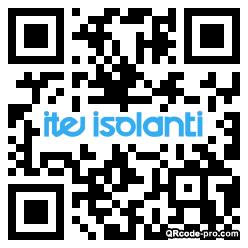 QR code with logo 28S40