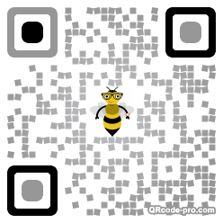 QR code with logo 28SZ0