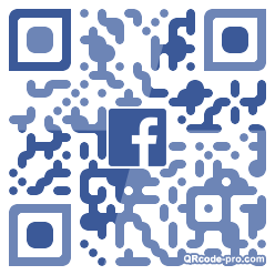 QR code with logo 28X20