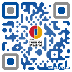 QR code with logo 28ZB0