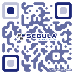 QR code with logo 28pu0