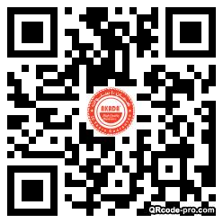 QR Code Design 28x90