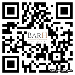 QR code with logo 299Z0
