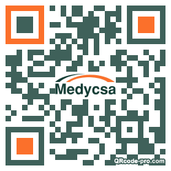 QR code with logo 29Bd0
