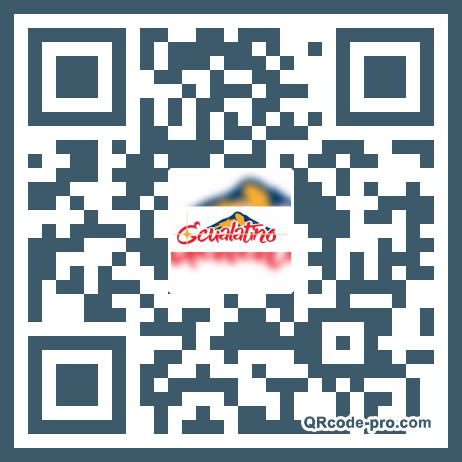 QR code with logo 2ADQ0