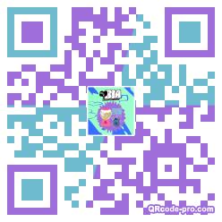 QR code with logo 2AFX0