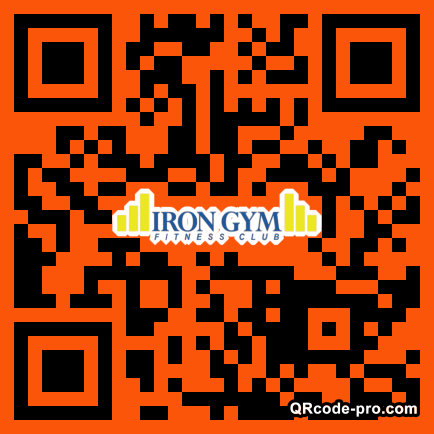 QR code with logo 2AxY0
