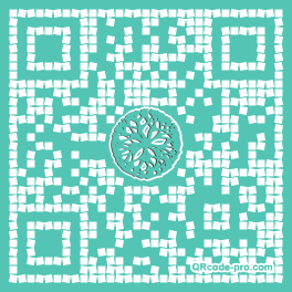 QR code with logo 2B2S0