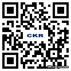 QR code with logo 2BJ30
