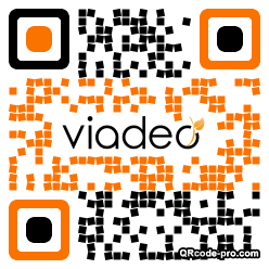 QR code with logo 2CG80