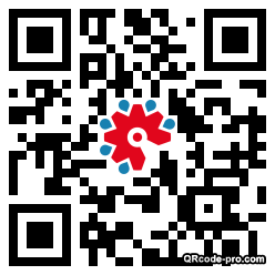 QR code with logo 2D3P0