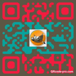 QR code with logo 2D5m0