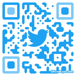 QR code with logo 2DHV0