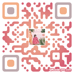 QR code with logo 2DW60