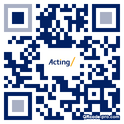 QR code with logo 2G460