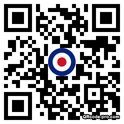 QR code with logo 2HE80