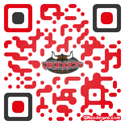 QR code with logo 2HER0