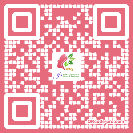 QR code with logo 2HKU0