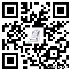 QR code with logo 2HoA0