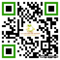 QR code with logo 2IYW0