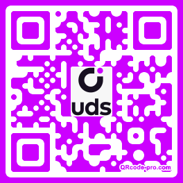 QR code with logo 2JXU0
