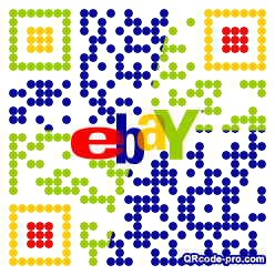 QR code with logo 2NHL0
