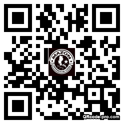 QR code with logo 2NV70