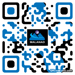 QR code with logo 2OHF0
