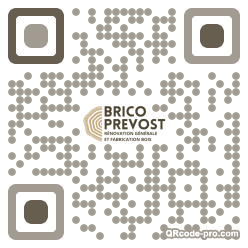 QR code with logo 2Ob70