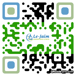 QR code with logo 2Ow70
