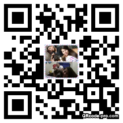 QR code with logo 2P4N0