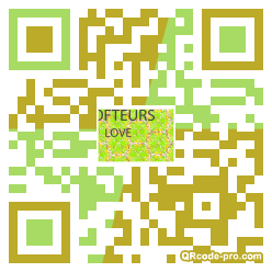 QR code with logo 2P600