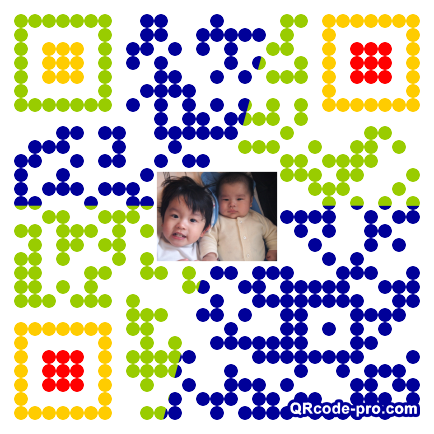 QR code with logo 2PLp0