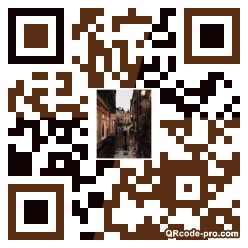 QR code with logo 2Pf40