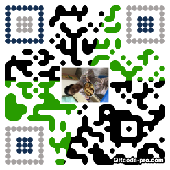 QR code with logo 2PiC0
