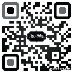 QR code with logo 2Qf40