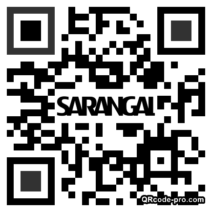 QR code with logo 2R180