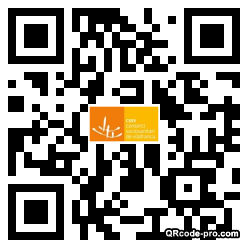 QR code with logo 2RGX0