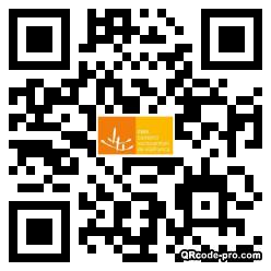 QR code with logo 2RH40