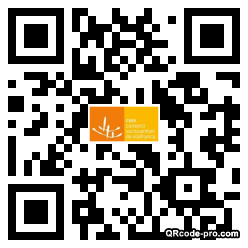 QR code with logo 2RH70