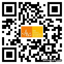 QR code with logo 2RH90