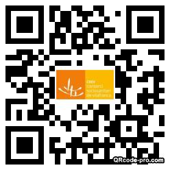 QR code with logo 2RHI0
