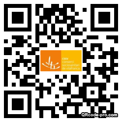 QR code with logo 2RHP0