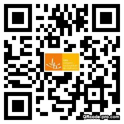 QR code with logo 2RIn0