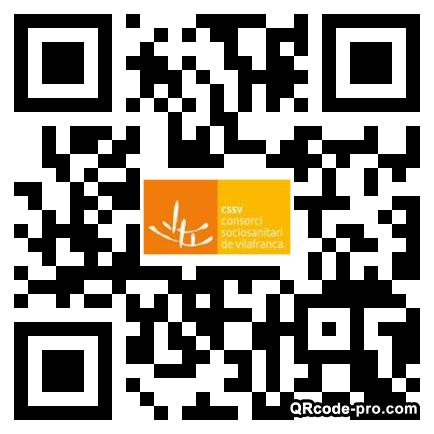 QR code with logo 2RPB0