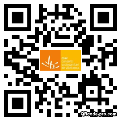 QR code with logo 2RPD0